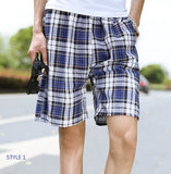 Mens Cool Plaid Shorts