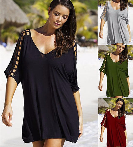 Cool Casual Unique Sleeve Summer Dress