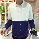 Mens Thick Casual Dress Shirt