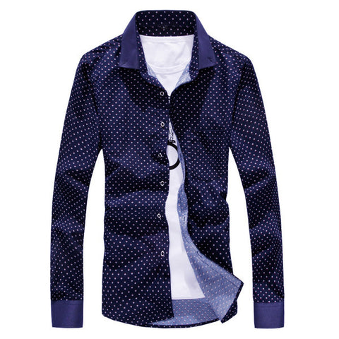 Mens Edgy Dress Shirt