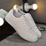 Mens Cool Faux Leather Sneakers