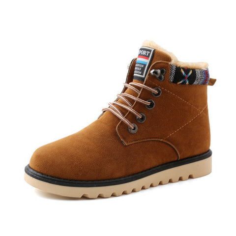 Mens Casual High Top Boots