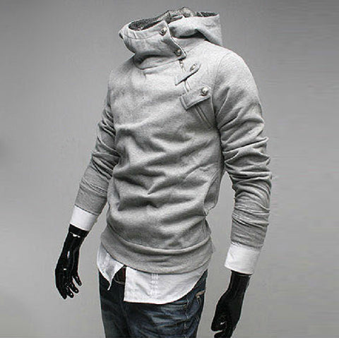 Mens Cool Turtleneck Hoodie