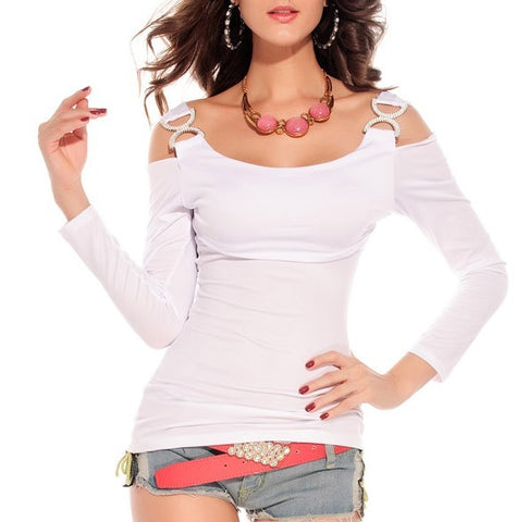 82df2527e0358 Womens Cool Long Sleeve Edgy Stylish Top