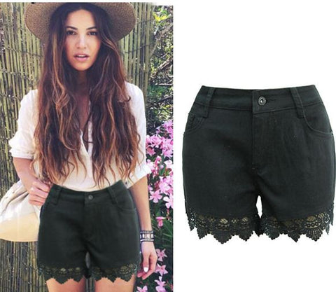 d6990367a2 Womens Urban Vintage Retro Denim Shorts. Regular price $ 21.99. View ·  Womens Trendy Tall Waist Lace Shorts