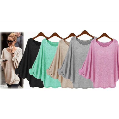 Womens Beautiful Batwing Stylish Basic Cardigan Sweater