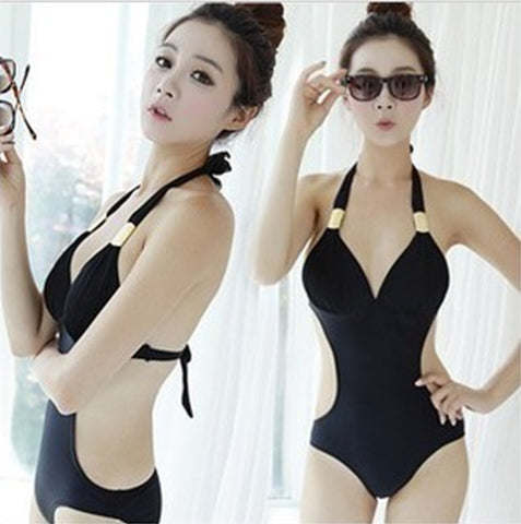 Womens Modern Beautiful One-Piece Swimsuit Monokini