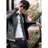Mens Cool Faux Leather Jacket