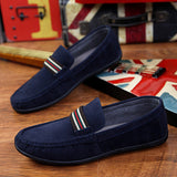 Mens Casual Suede Style Loafers