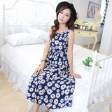 Lovely Floral Summer Beach Dress