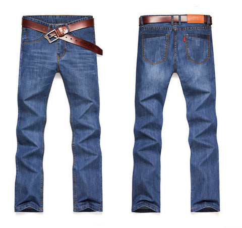 Mens Casual Straight Jeans