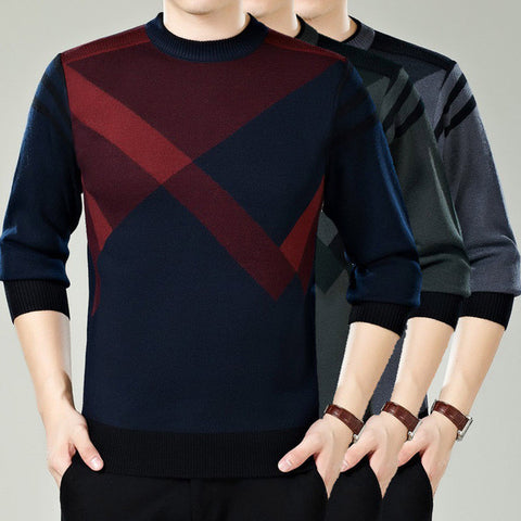Mens Cool Patterned Sweater