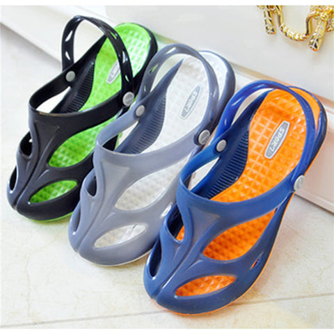 Mens Cool Breathable Rubber Slippers