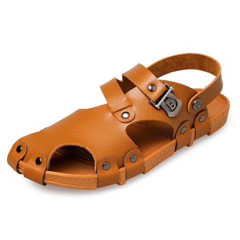Mens Trendy Big Toe Covered Sandals