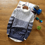 Mens Slim Comfortable Winter Sweater