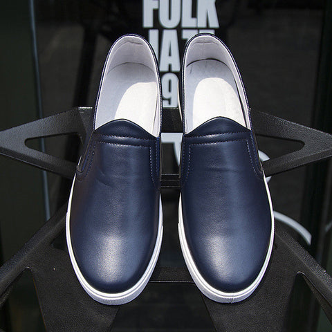 Mens Trendy Canvas Style Slip-On Shoes