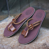 Mens Casual Tong Slippers With Support