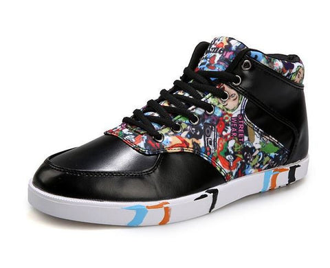 Mens Canvas Art Sneakers