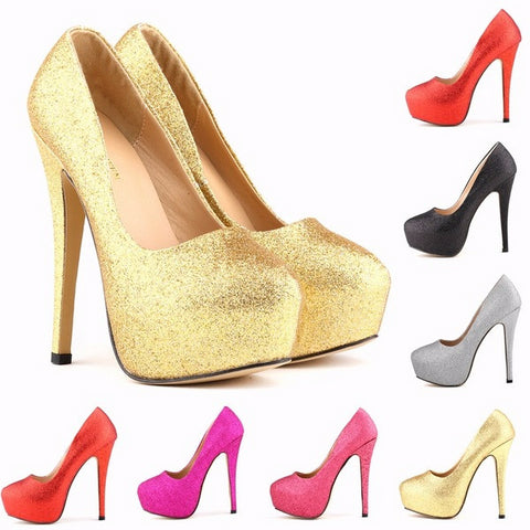 Stunning Womens Pump Classic Stiletto High Heels