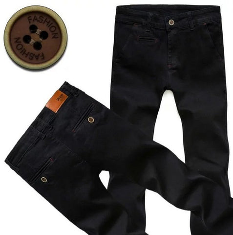 Mens Cool Stretch Denim Style Pants