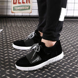 Mens Suede Style Sneakers