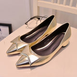 Womens Close Toe Ribbon Bow Heels