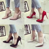 Womens Classic Close Toe Stiletto High Heels