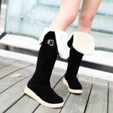 Womens Cute Knee High Casual City Boots