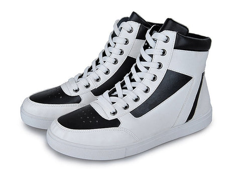 Mens Urban Classic High-Top Sneakers