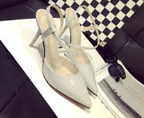 Womens Sleek Modern Heels