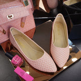 Womens Elegant Pointy Flats