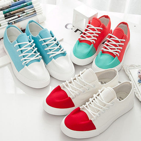 Womens Cool Unique Look Casual Sneakers