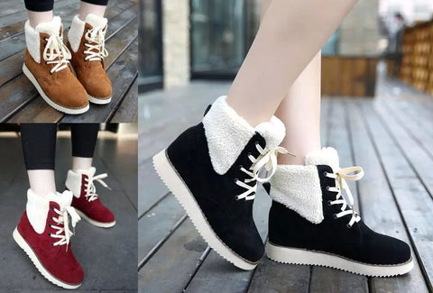 Womens Charming High-Top Casual Boots