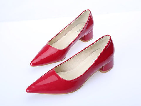 Womens Classic Pointy Tip Dress Heels