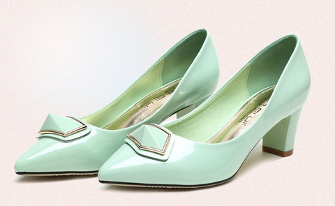 Womens Pretty Design Low Heels