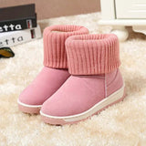Womens Stylish Winter Sneaker Boots