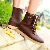 Womens Fashionable Edgy Casual Boots