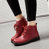 Womens Trendy High-Top City Casual Boots
