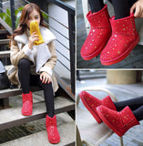 Womens Casual Starry Winter Boots