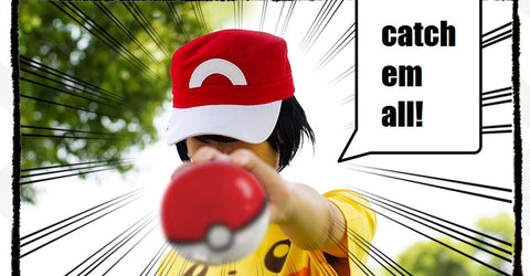 Pokemon Go Ash Hat Cap