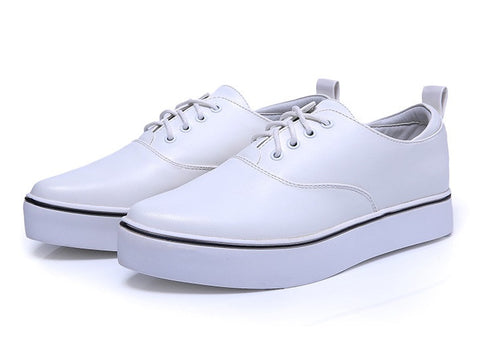 Womens Classic Leather Low Casual Shoes