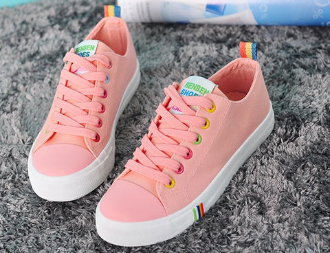 Womens Popular Casual Low-Top Sneakers