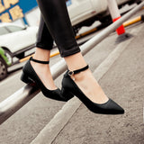 Womens Charming Cute Low Heels