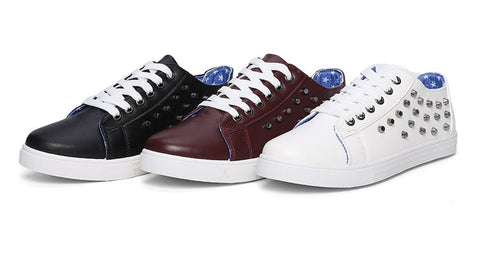 Mens Cool Riveted Casual Sneakers