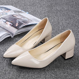 Womens Lovely Stylish Work Heels
