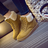 Womens Cool Casual Winter Fur Boots
