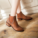 Womens Sleek Casual Boots