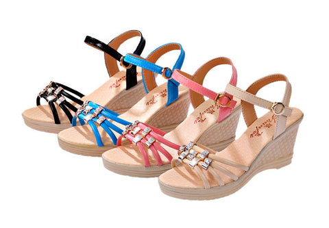 Womens Elegant Beautiful Wedge Sandals