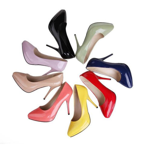 Modern Style Pointed Toe High Heels