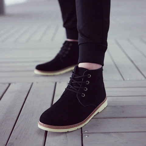 Mens Fashionable High Top Boots